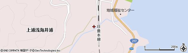 大分県佐伯市上浦大字浅海井浦1795周辺の地図