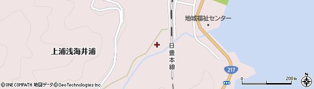 大分県佐伯市上浦大字浅海井浦1793周辺の地図