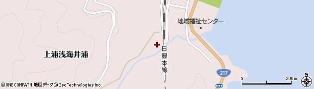 大分県佐伯市上浦大字浅海井浦561周辺の地図