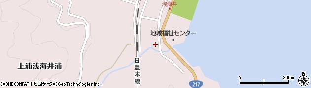 大分県佐伯市上浦大字浅海井浦534周辺の地図