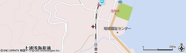 大分県佐伯市上浦大字浅海井浦595周辺の地図