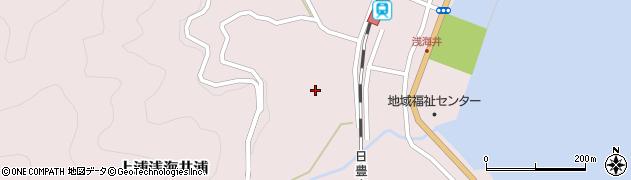 大分県佐伯市上浦大字浅海井浦628周辺の地図