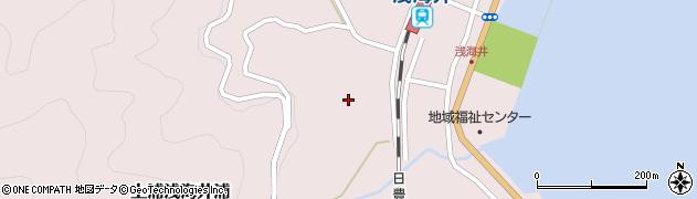 大分県佐伯市上浦大字浅海井浦627周辺の地図