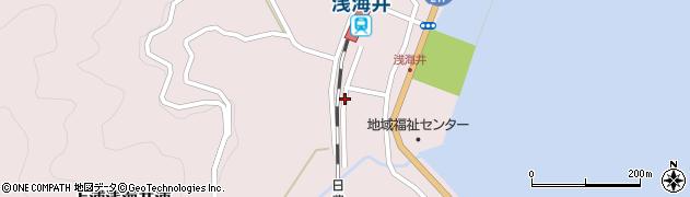 大分県佐伯市上浦大字浅海井浦505周辺の地図