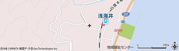 大分県佐伯市上浦大字浅海井浦658周辺の地図