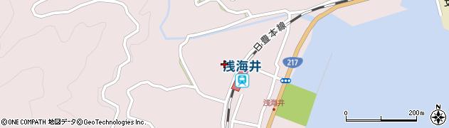 大分県佐伯市上浦大字浅海井浦435周辺の地図