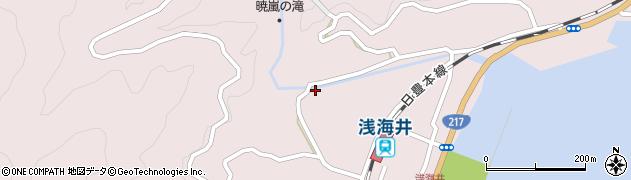 大分県佐伯市上浦大字浅海井浦430周辺の地図