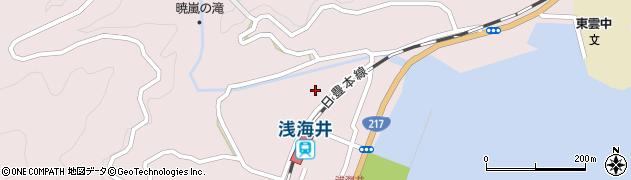大分県佐伯市上浦大字浅海井浦304周辺の地図