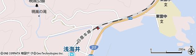 大分県佐伯市上浦大字浅海井浦337周辺の地図