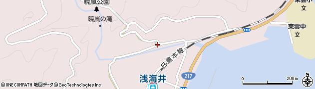 大分県佐伯市上浦大字浅海井浦256周辺の地図