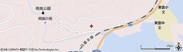大分県佐伯市上浦大字浅海井浦216周辺の地図