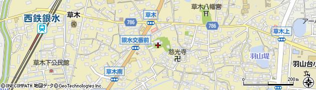 託随寺周辺の地図