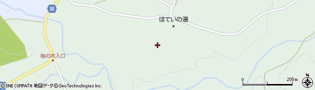 大分県竹田市久住町大字栢木5587周辺の地図