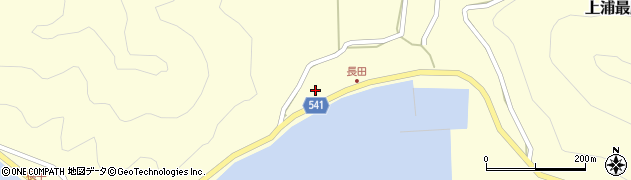 大分県佐伯市上浦大字最勝海浦3754周辺の地図