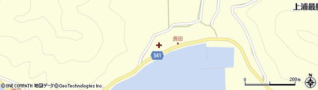 大分県佐伯市上浦大字最勝海浦3755周辺の地図