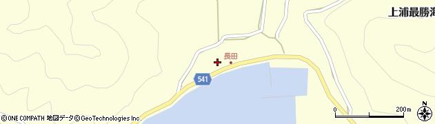 大分県佐伯市上浦大字最勝海浦3738周辺の地図