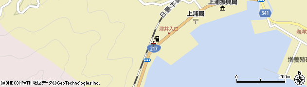 大分県佐伯市上浦大字津井浦2251周辺の地図