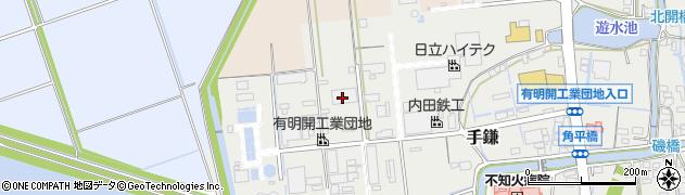 佐川急便株式会社大牟田営業所 お問い合わせ専用周辺の地図