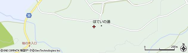 大分県竹田市久住町大字栢木5581周辺の地図