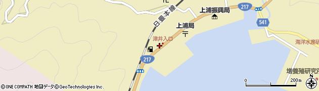 大分県佐伯市上浦大字津井浦2151周辺の地図