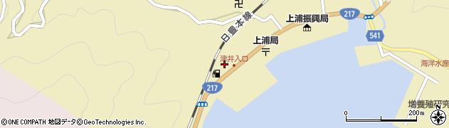 大分県佐伯市上浦大字津井浦2064周辺の地図