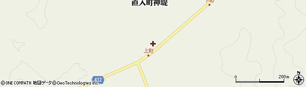 大分県竹田市直入町大字神堤916周辺の地図