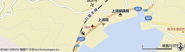 大分県佐伯市上浦大字津井浦2146周辺の地図