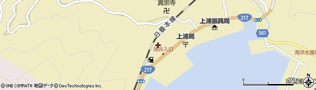 大分県佐伯市上浦大字津井浦2087周辺の地図