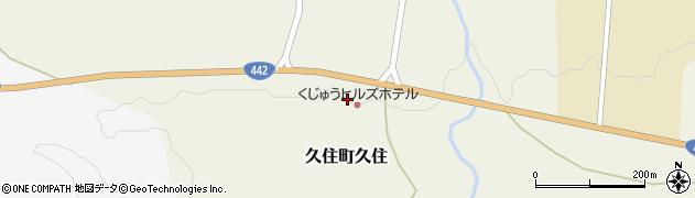 大分県竹田市久住町大字久住4028周辺の地図