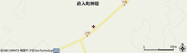 大分県竹田市直入町大字神堤917周辺の地図