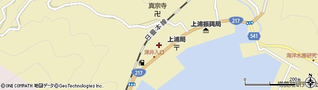 大分県佐伯市上浦大字津井浦2144周辺の地図