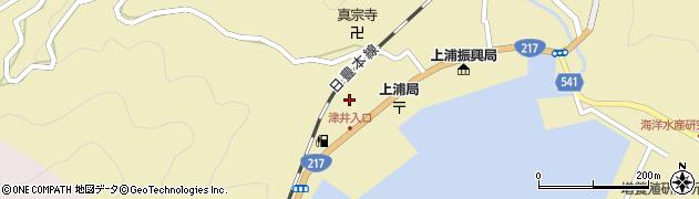 大分県佐伯市上浦大字津井浦2088周辺の地図