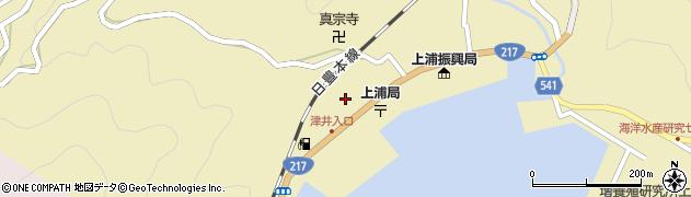 大分県佐伯市上浦大字津井浦2143周辺の地図