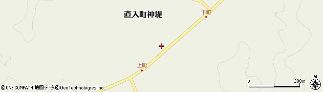 大分県竹田市直入町大字神堤922周辺の地図