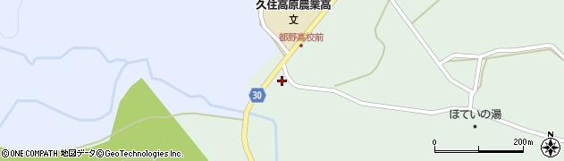 大分県竹田市久住町大字栢木5567周辺の地図