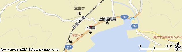 大分県佐伯市上浦大字津井浦1476周辺の地図