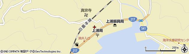 大分県佐伯市上浦大字津井浦3区周辺の地図