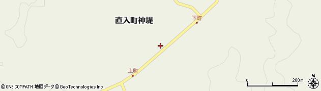 大分県竹田市直入町大字神堤932周辺の地図