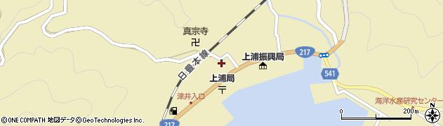 大分県佐伯市上浦大字津井浦1473周辺の地図
