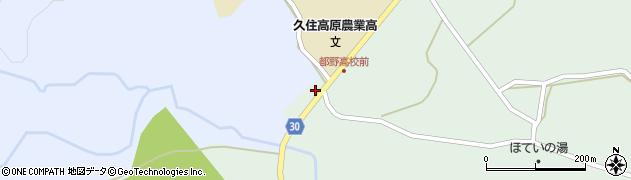 大分県竹田市久住町大字栢木5566周辺の地図