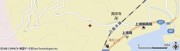 大分県佐伯市上浦大字津井浦2003周辺の地図