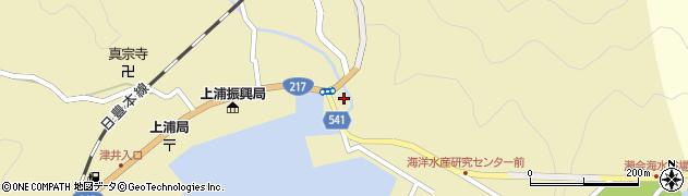 大分県佐伯市上浦大字津井浦1368周辺の地図