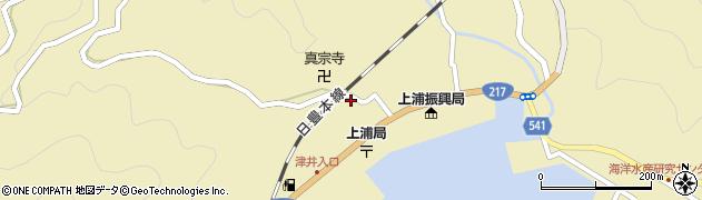 大分県佐伯市上浦大字津井浦2133周辺の地図