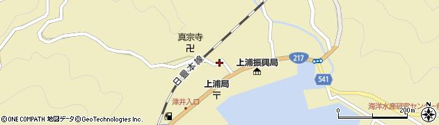 大分県佐伯市上浦大字津井浦1481周辺の地図