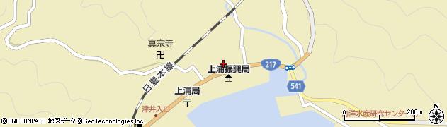大分県佐伯市上浦大字津井浦1429周辺の地図
