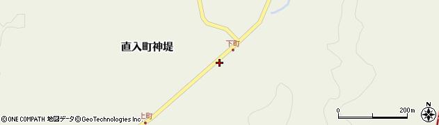 大分県竹田市直入町大字神堤57周辺の地図