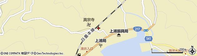 大分県佐伯市上浦大字津井浦1319周辺の地図