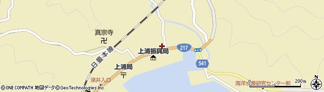 大分県佐伯市上浦大字津井浦1410周辺の地図