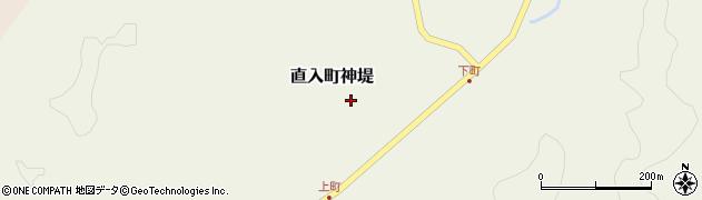 大分県竹田市直入町大字神堤928周辺の地図