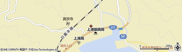 大分県佐伯市上浦大字津井浦1431周辺の地図